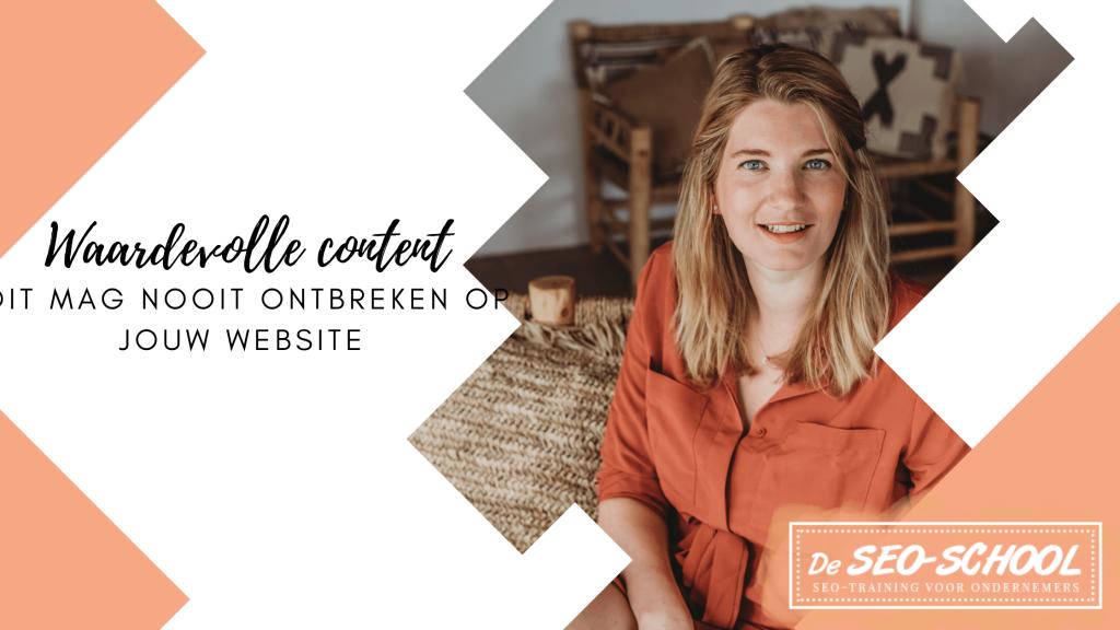 waardevolle content belangrijk voor website